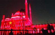 Egypt's tourist landmarks light up in red in solidarity with China over coronavirus