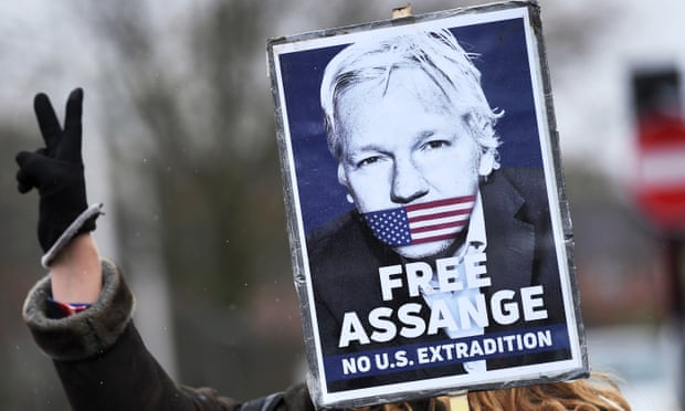 Julian Assange denied bail in UK after claiming 'high risk' of catching coronavirus