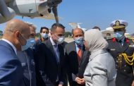 Egypt's Health Minister arrives to Italy with the medical aid in confronting COVID-19