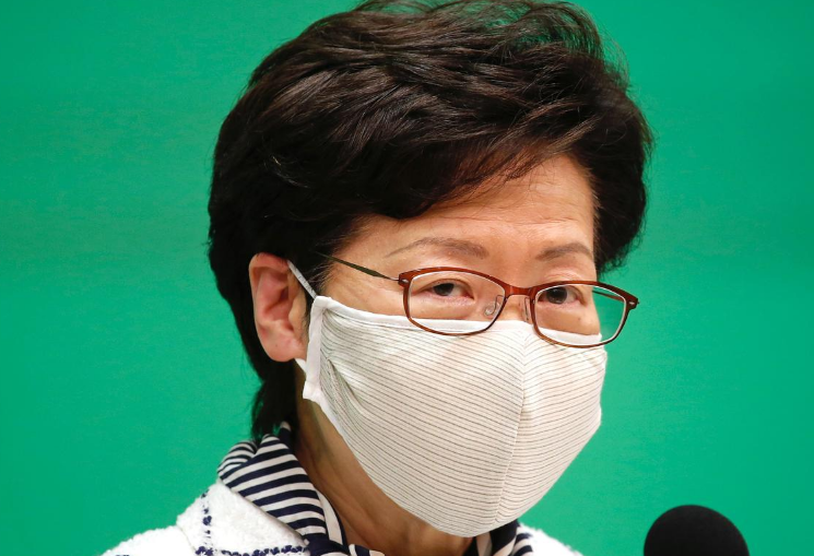 Hong Kong leader says election postponed, in blow to pro-democracy camp