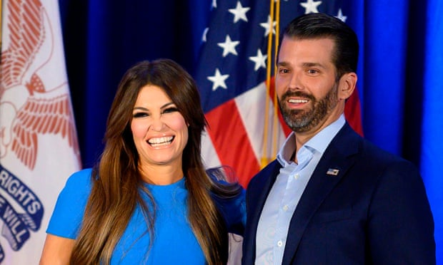 Kimberly Guilfoyle, Donald Trump Jr's girlfriend, tests positive for Covid-19