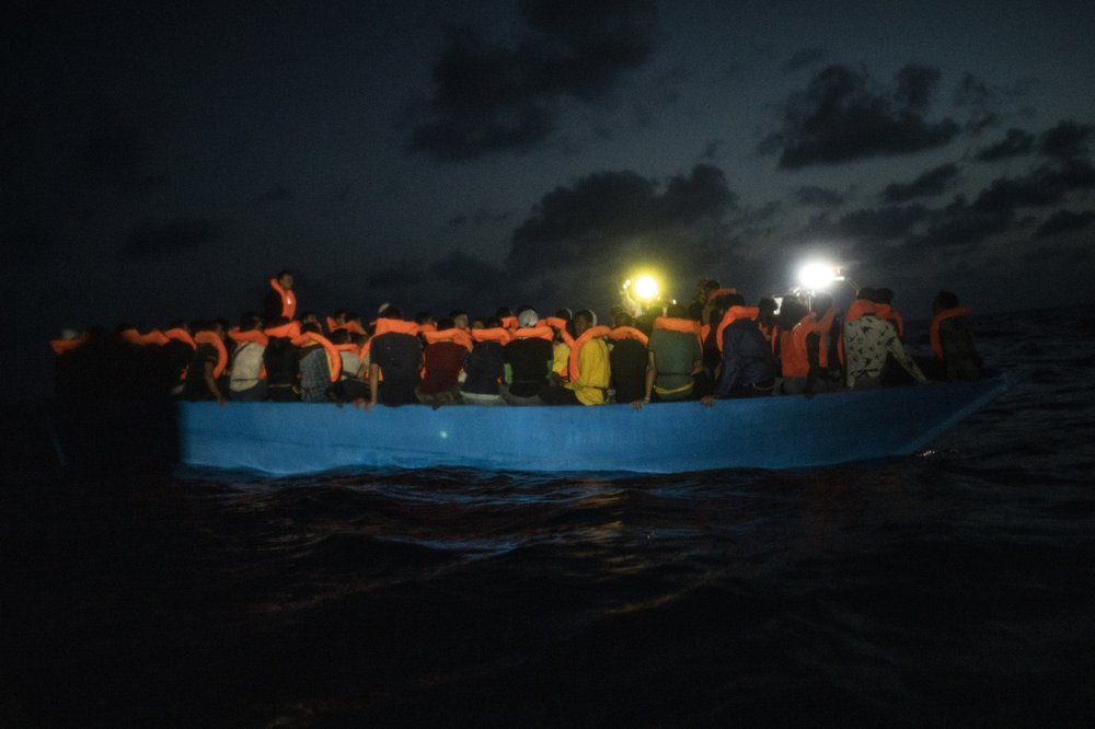 U.N.: Boat capsizes near Libya; 24 migrants presumed dead