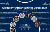 Live for CEMO seminar to discuss on Turkish Interference in the Middle East and its Dangerous Effects on World Peace