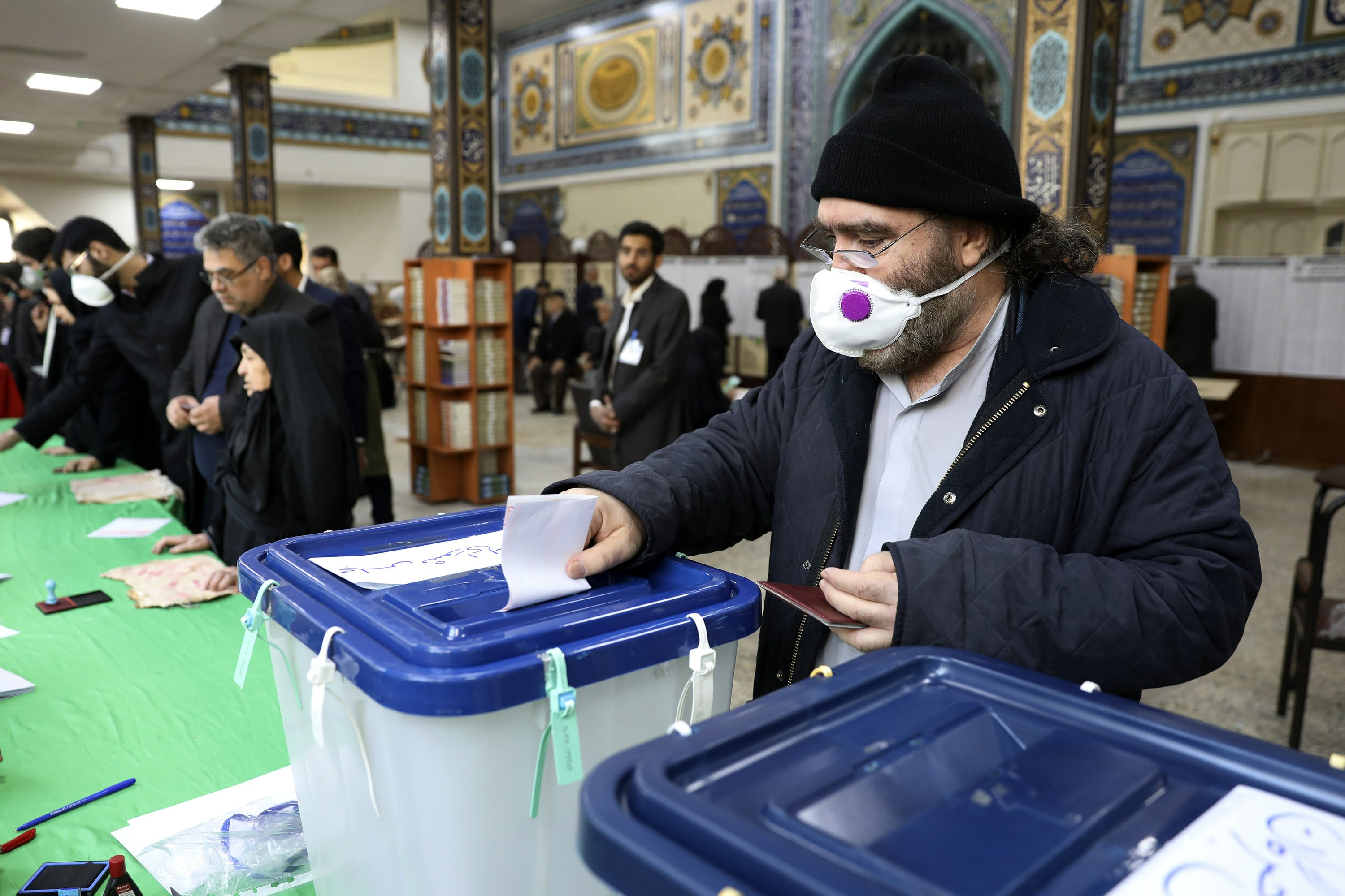 Iran Fears Low Turnout in Presidential Election