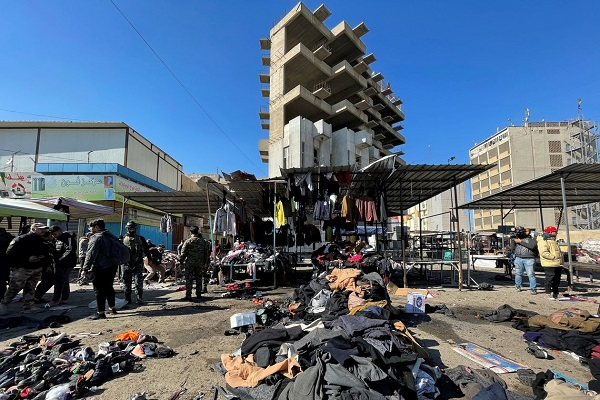 Regional, Int'l Condemnation of Baghdad Bombing
