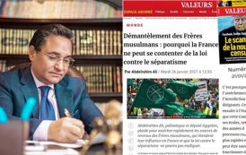 """Renowned French website """"Valeurs actuelles"""" dwells Abd al-Rahim Ali's article on """"Dismantling of the Muslim Brotherhood"""""""