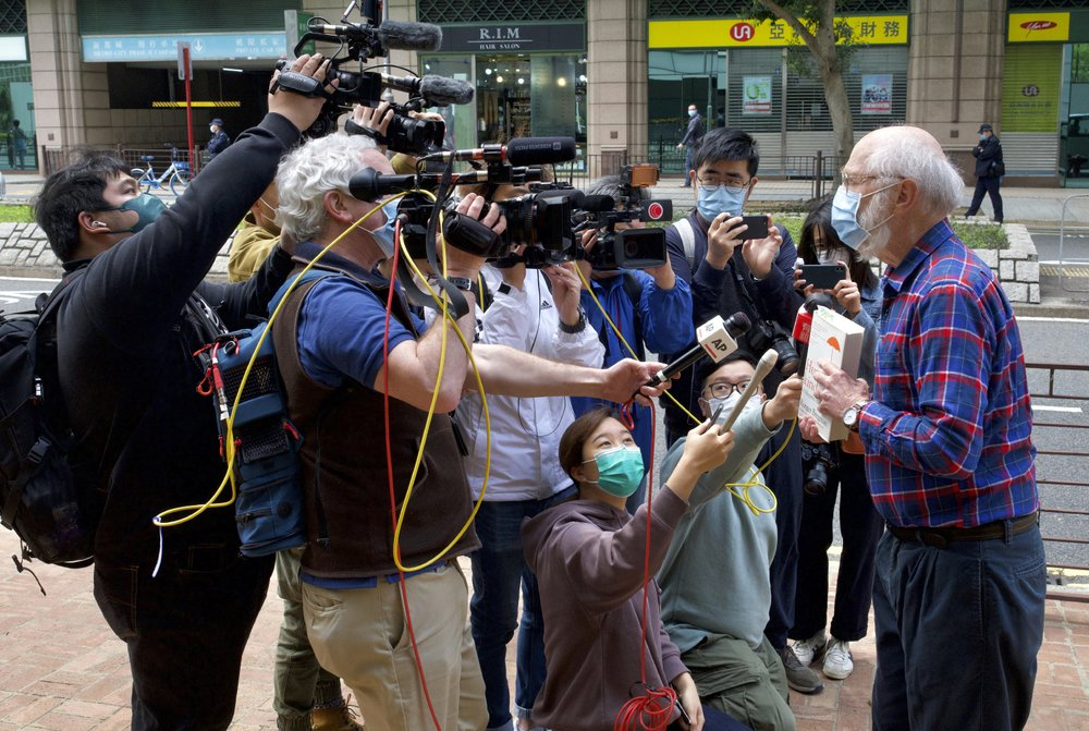 Hong Kong detains 47 activists on subversion charges