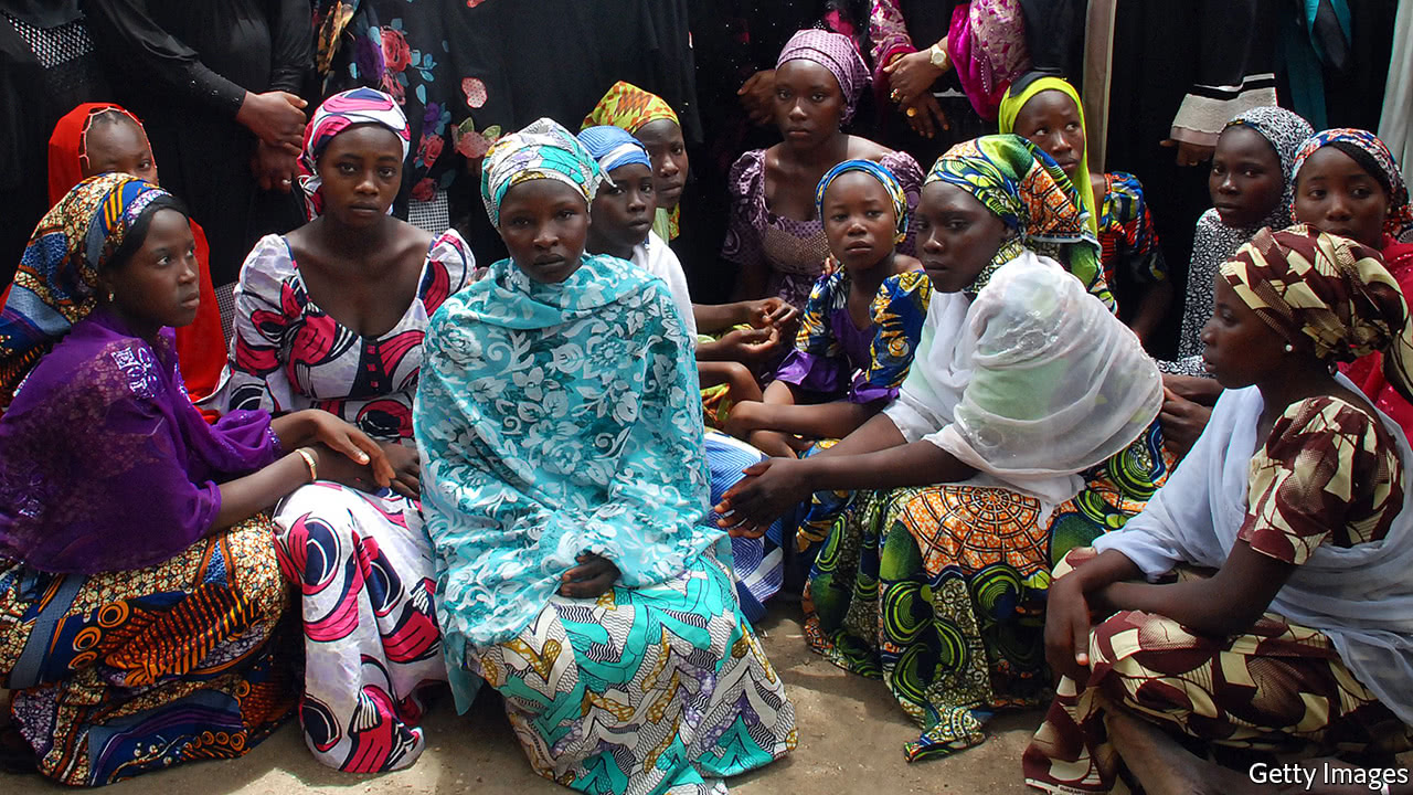 Boko Haram using women to put pressure on Nigeria