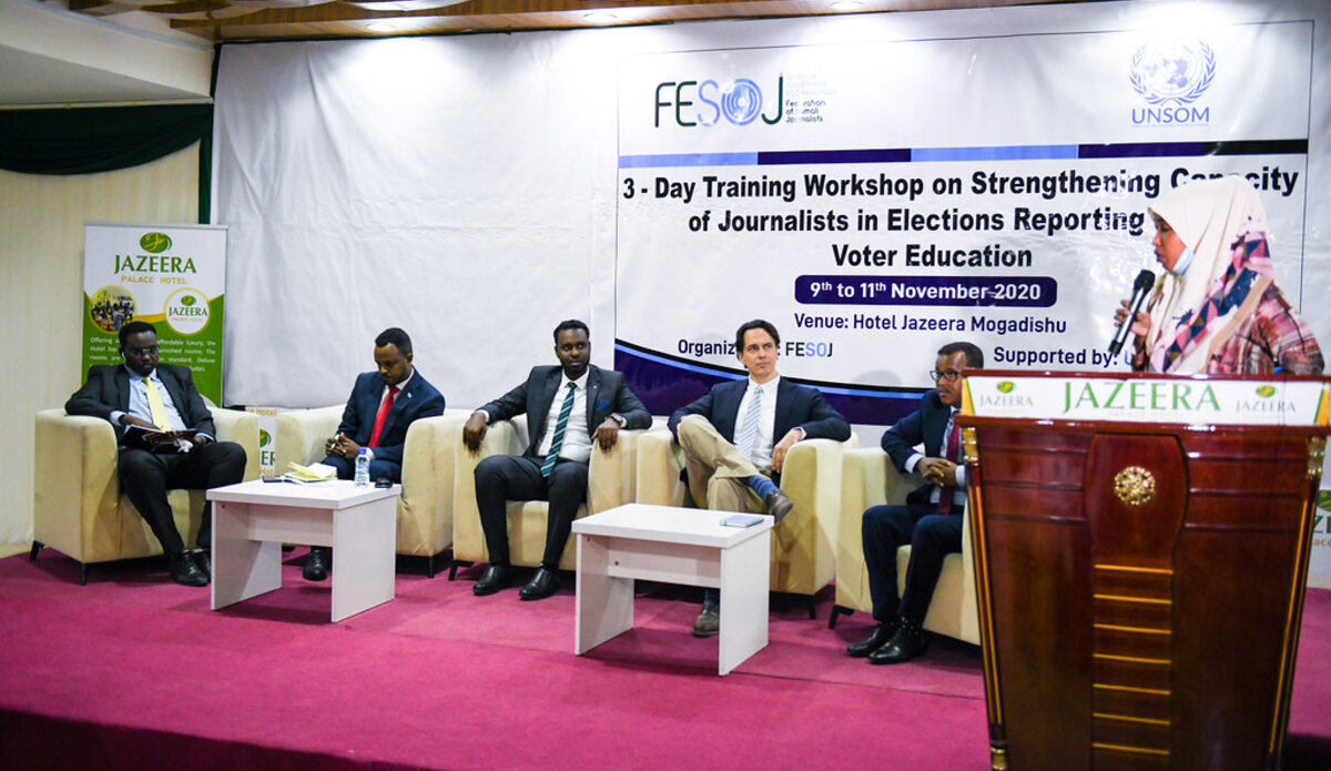 Somali government at center of election debates