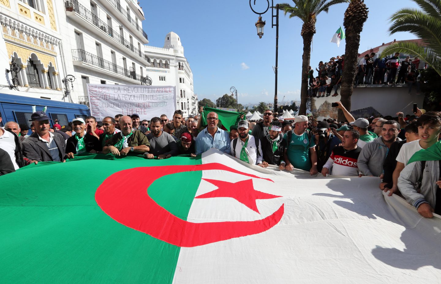 Algeria's Largest Opposition Party Runs for Early Parliamentary Elections