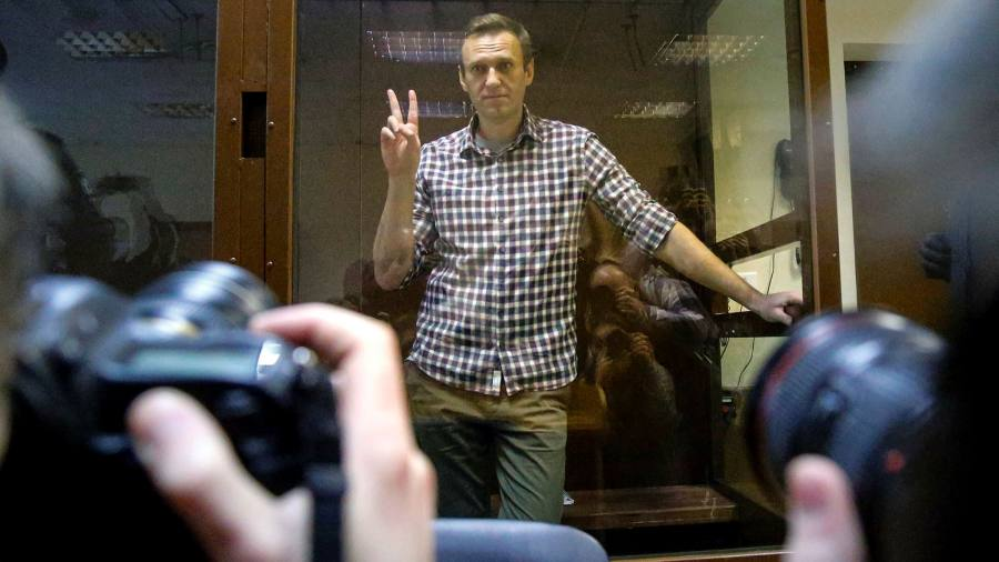US joins EU in sanctioning Russians for jailing of Navalny