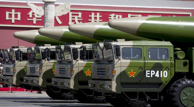 China building second nuclear missile base, satellite images reveal
