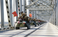 An Iconic Bridge Sees U.S. Allies Flee Afghanistan as the Soviets Did