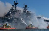 Failed navy seal is suspect in $1bn USS Bonhomme Richard fire