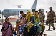 Thousands besiege Kabul airport in frantic attempt to flee Taliban