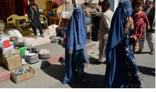 Hamid Karzai speaks out for Afghan women as Taliban loom outside