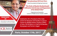 Symposium: 'The Perils of Muslim Brotherhood's Infiltration into Europeand Expansions of its Global Order'