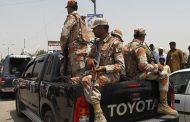 Gunmen kill 3 in attack on paramilitary patrol in Pakistan