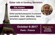 Elie Hatem: Qatar's financing of terrorism exceeds public expenditures
