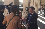 Abdelrehim Ali from outside conference premises: Qatar is going deeply into French society