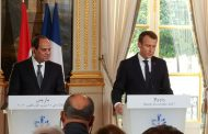 Macron: Fighting terrorism is part of Egypt's human rights