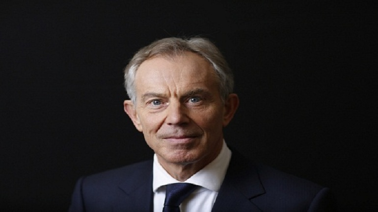 Tony Blair arrived to Egypt for a brief visit