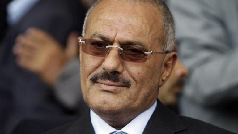 Video: Bombing the former Yemeni President Ali Abdullah Saleh home