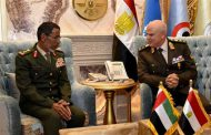 Egyptian and Emirates Armed Forces Chief of Staff discuss military cooperation