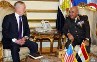 US Defense Secretary affirms his country's support for Egypt in its war against terrorism