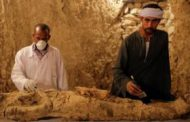 Egypt uncovers two new tombs at Luxor