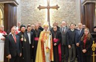 The first mass in two years after the defeat of ISIS in Iraq