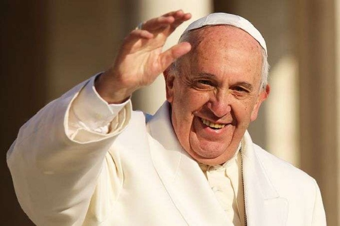 """""""Pope Francis"""" condemns"""