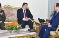 Egypt's defense minister in Cyprus