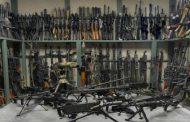 Police raid large arms depot