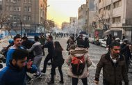 Washington concerned over violence against unarmed protesters in Iran