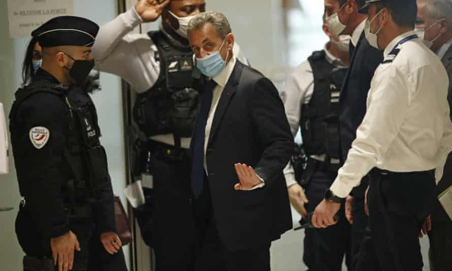 Nicolas Sarkozy appears before judge in campaign funding case