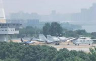 New Chinese stealth fighter spotted as Beijing seeks to challenge power of US Navy
