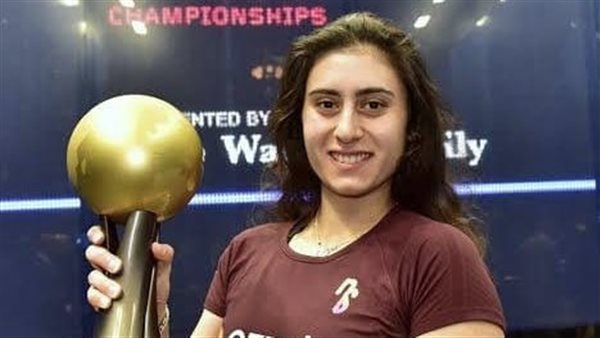 The undefeatable Nour El-Sherbiny, an Egyptian squash fighter