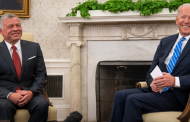 Biden praises Jordan's King Abdullah as a loyal friend in a 'tough neighborhood.'