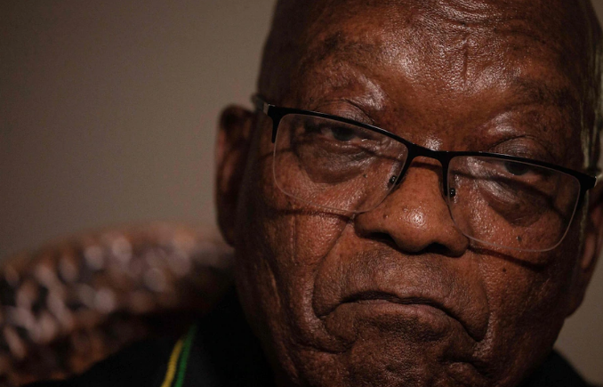 Former South African president Jacob Zuma hands himself into police