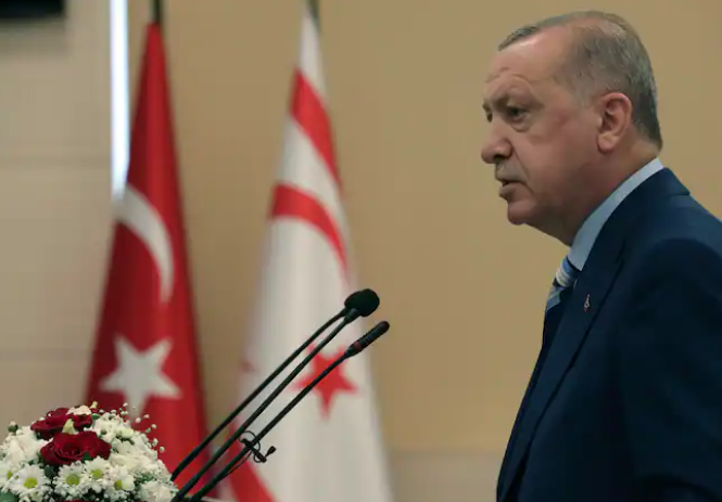 Turkish president: Two-state deal only way for Cyprus peace